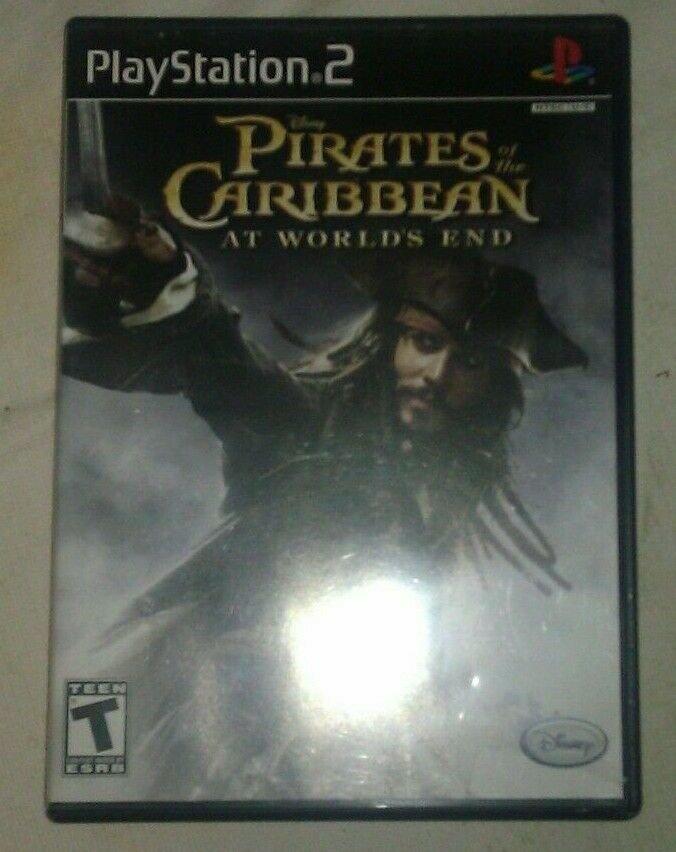 Pirates of the Caribbean: At World's End (Sony PlayStation 2, 2007) PS2 CIB CIP