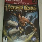 Prince of Persia: The Sands of Time Greatest Hits (Sony PlayStation 2, 2003) PS2