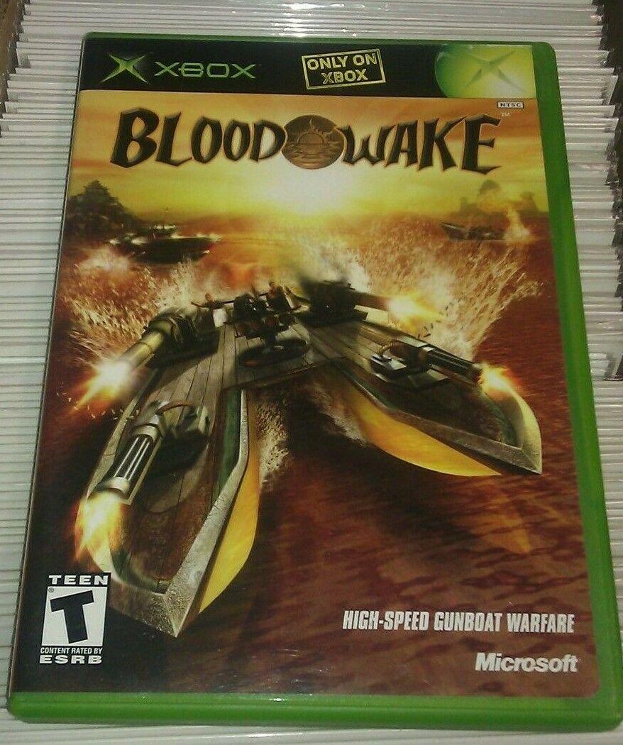 Blood Wake (Microsoft Xbox Cassic, 2002) Complete CIB Tested