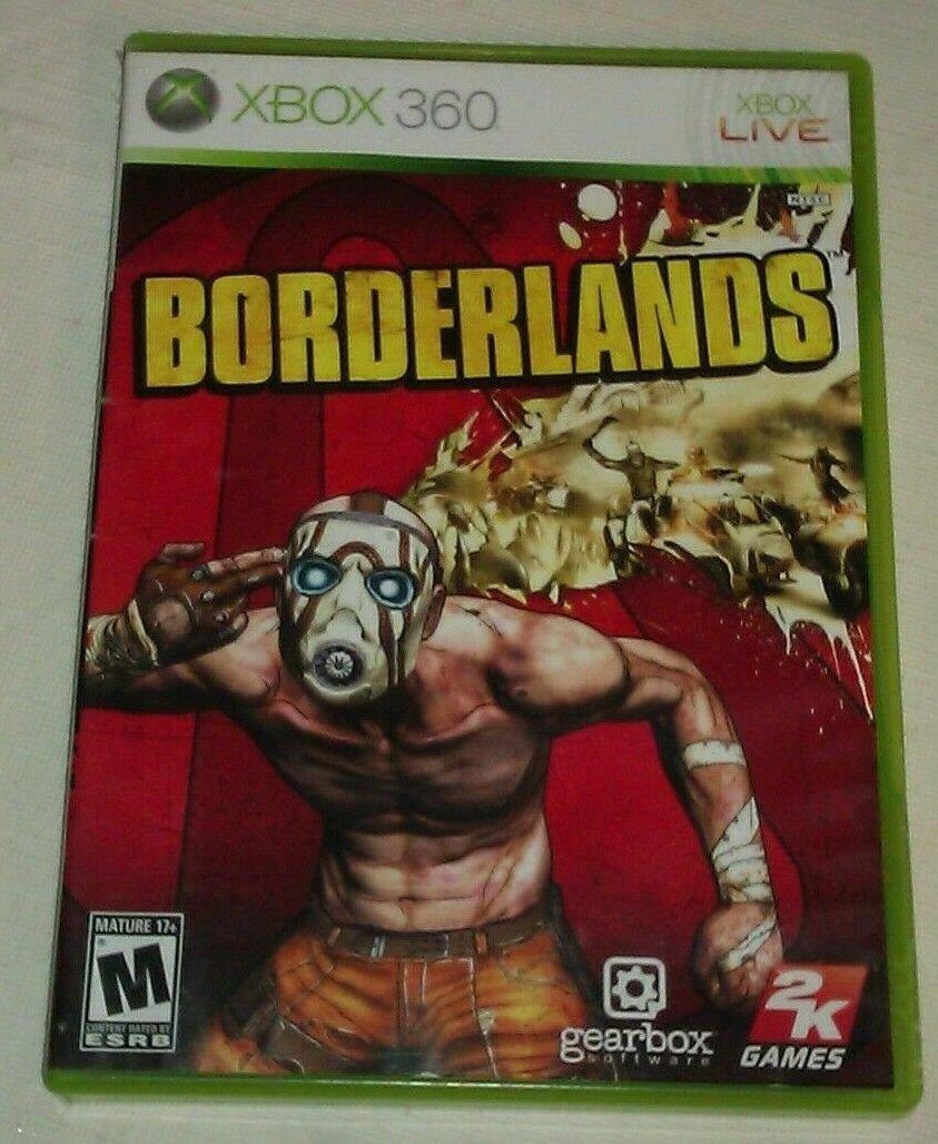 Borderlands (Microsoft Xbox 360, 2009) Tested