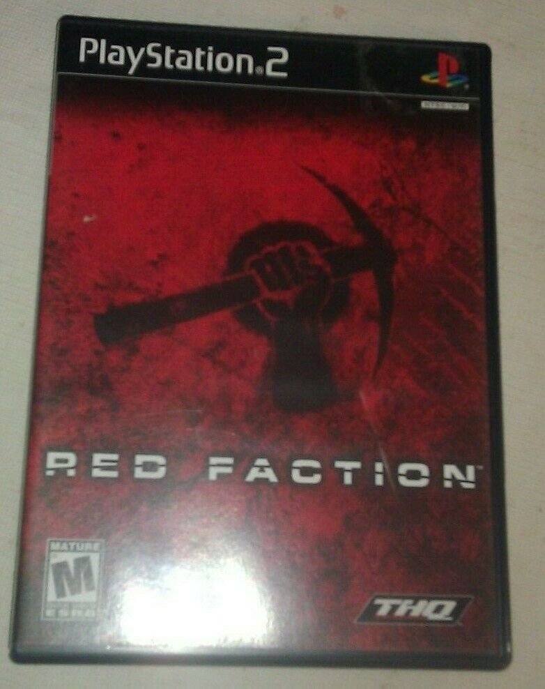 Red Faction (Sony PlayStation 2, 2002) Complete With Manual CIB PS2