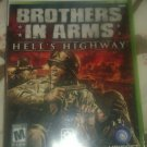 Brothers in Arms: Hell's Highway (Microsoft Xbox 360) With Manual CIB Tested