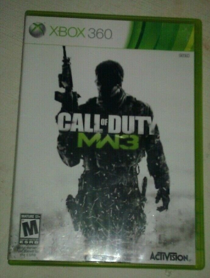 Call of Duty: Modern Warfare 3 (Xbox 360, 2011) Complete CIB Tested