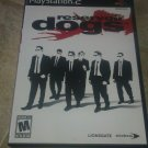 Reservoir Dogs (Sony PlayStation 2, 2006) Complete With Manual CIB PS2