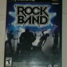 Rock Band (Sony PlayStation 2, 2007) PS2 Complete CIB