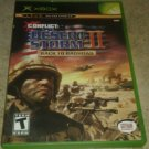 Conflict Desert Storm II Back to Baghdad (Microsoft Xbox, 2003) W/ Manual CIB