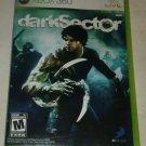 Dark Sector (Microsoft Xbox 360, 2008) Complete W/ Manual CIB Tested