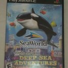 SeaWorld: Shamu's Deep Sea Adventures (Sony PlayStation 2, 2005) PS2