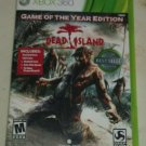 Dead Island Game of the Year Edition (Microsoft Xbox 360, 2012) Complete Tested