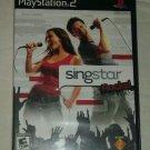 SingStar Rocks (Sony PlayStation 2, 2006) PS2 CIB Complete