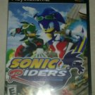 Sonic Riders (Sony PlayStation 2, 2006) Complete With Manual CIB PS2