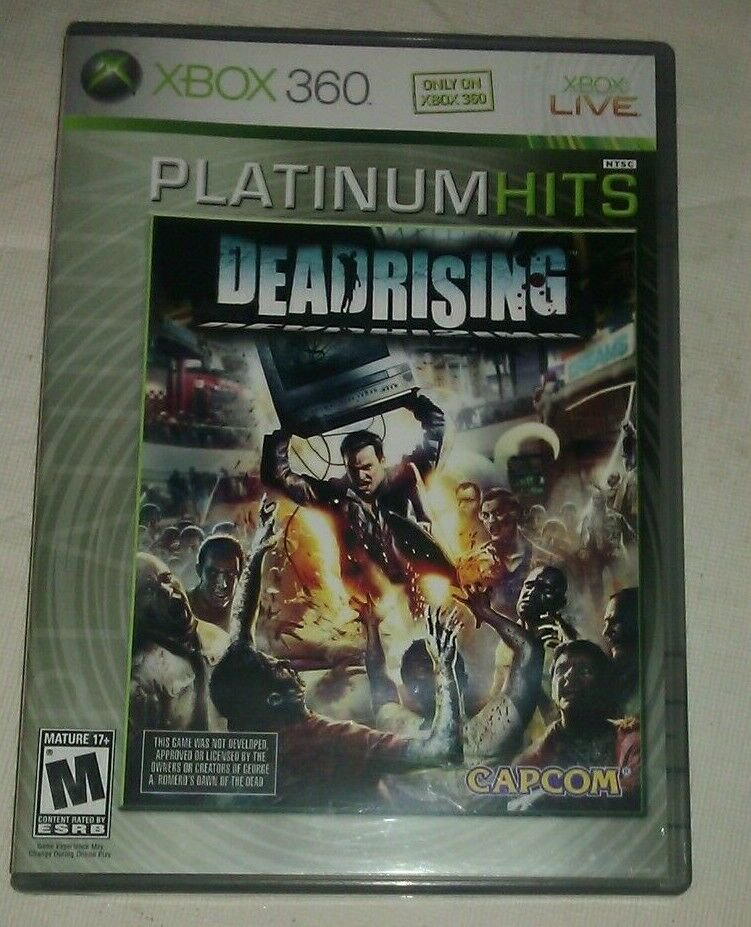 Dead Rising Platinum Hits (Microsoft Xbox 360, 2006) CIB Complete