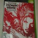 Demon Stone (Xbox Classic Original , 2004) With Manual CIB Complete Tested
