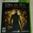 Deus Ex: Human Revolution (Microsoft Xbox 360, 2011) Complete Tested CIB