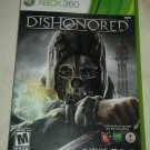 Dishonored (Microsoft Xbox 360, 2012) Complete CIB Tested
