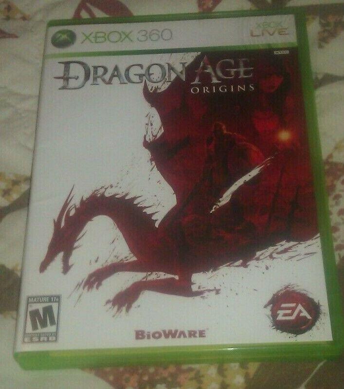 Dragon Age: Origins (Microsoft Xbox 360, 2009) Complete With Manual CIB Tested