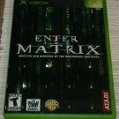 Enter the Matrix (Microsoft Xbox Classic Original , 2003) Complete CIB Tested