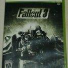 Fallout 3 (Microsoft Xbox 360, 2008) Complete CIB Tested