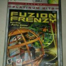 Fuzion Frenzy Platinum Hits (Microsoft Xbox Original 2004) w/Manual CIB Tested