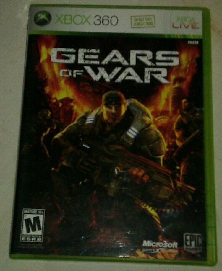 Gears of War (Microsoft Xbox 360, 2006) Complete CIB Tested