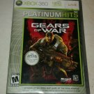 Gears of War Platinum Hits (Microsoft Xbox 360, 2006) With Manual CIB Tested
