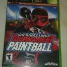 Greg Hastings' Tournament Paintball (Microsoft Xbox Original 2004) W/Manual CIB