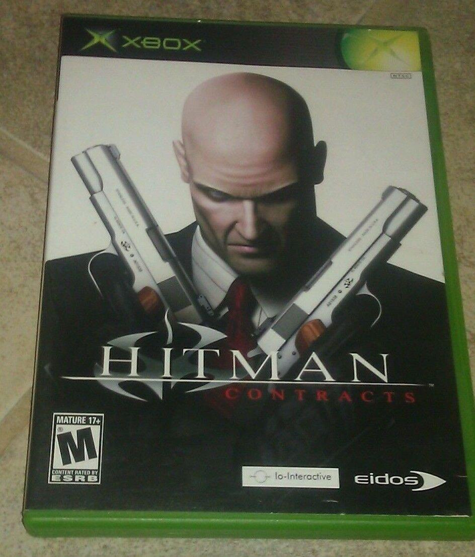 Hitman: Contracts (Microsoft Xbox Original 2004) Complete With Manual CIB