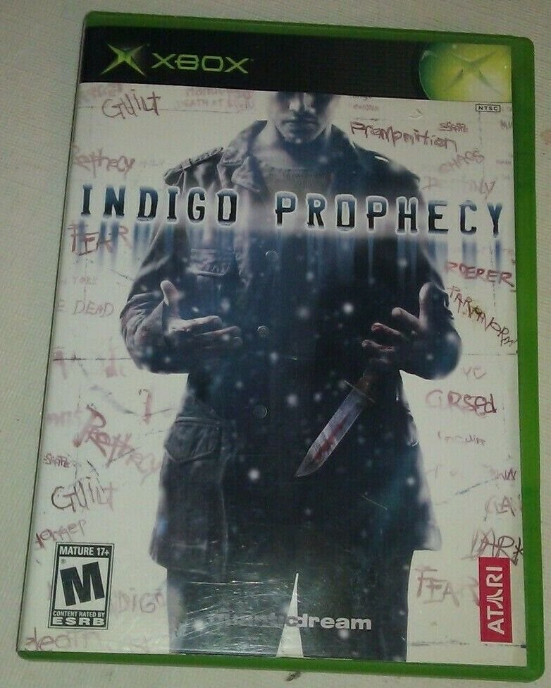Indigo Prophecy (Xbox Classic Original , 2005) Tested