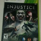 Injustice: Gods Among Us (Microsoft Xbox 360 ) Complete With Manual CIB Tested