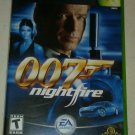 James Bond 007: NightFire (Microsoft Xbox Original 2002) With Manual CIB Tested