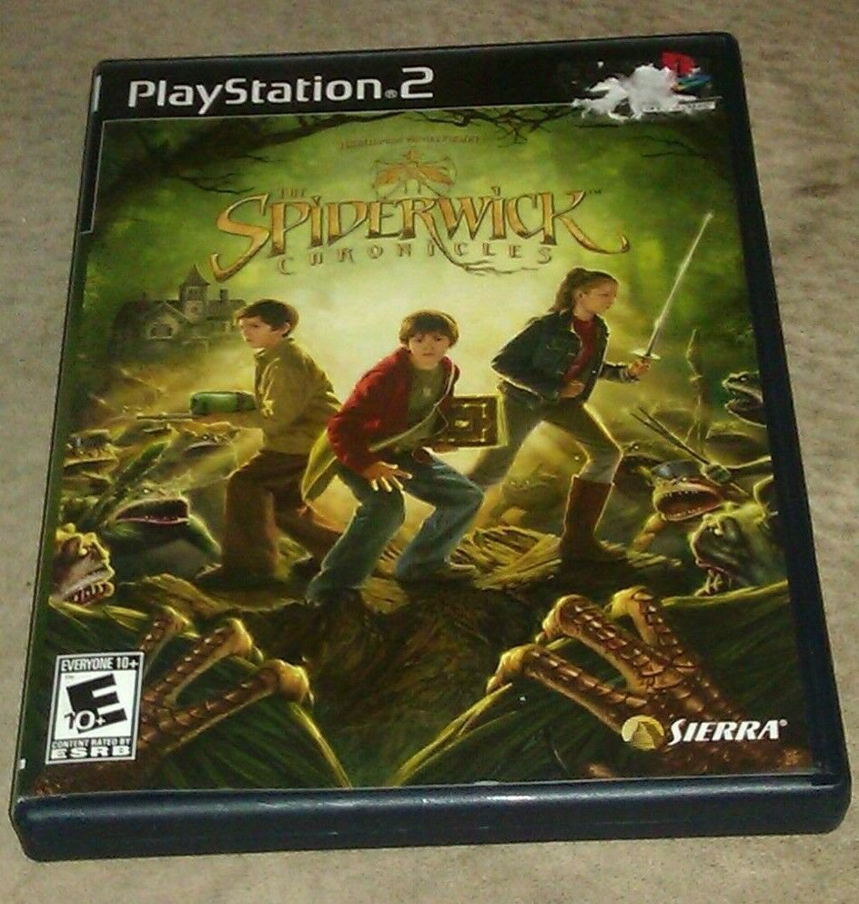 Spiderwick Chronicles (Sony PlayStation 2, 2008) PS2