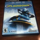 Splashdown (Sony PlayStation 2, 2001) PS2 CIB Complete