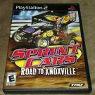 Sprint Cars: Road to Knoxville (Sony PlayStation 2, 2006) PS2 Complete CIB