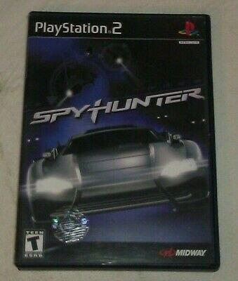 SpyHunter (Sony PlayStation 2, 2002) PS2 CIP CIB