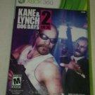 Kane & Lynch 2: Dog Days (Microsoft Xbox 360, 2010) With Manual CIB Tested