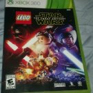LEGO Star Wars: The Force Awakens (Microsoft Xbox 360) With Manual CIB Tested