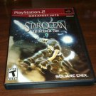 Star Ocean: Till the End of Time G Hits ( PlayStation 2, 2004) PS2 CIB Complete