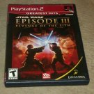 Star Wars: Episode III Revenge of the Sith Greatest Hits(Sony PlayStation 2) PS2