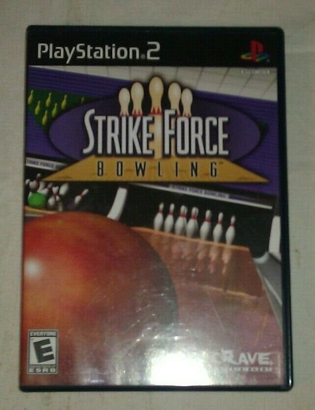 Strike Force Bowling (Sony PlayStation 2, 2004) PS2 Complete CIB