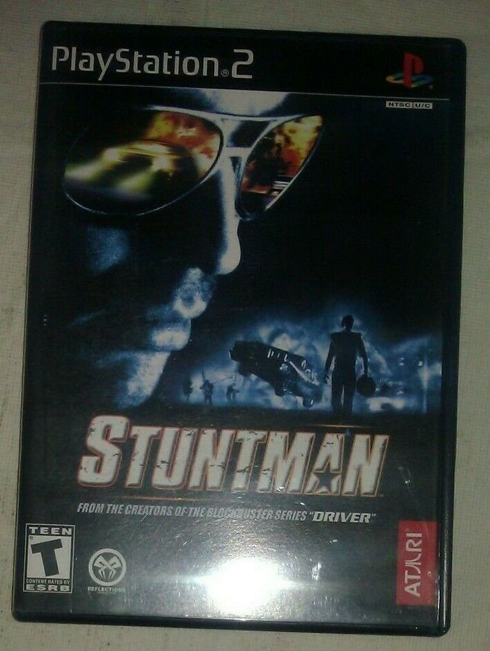 Stuntman (Sony PlayStation 2, 2002) PS2 CIB Complete