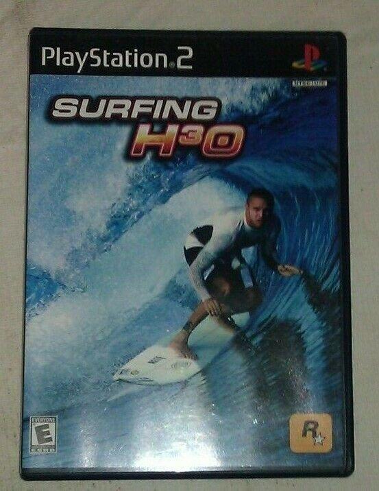 Surfing H3O (Sony PlayStation 2, 2000) PS2 CIP CIB