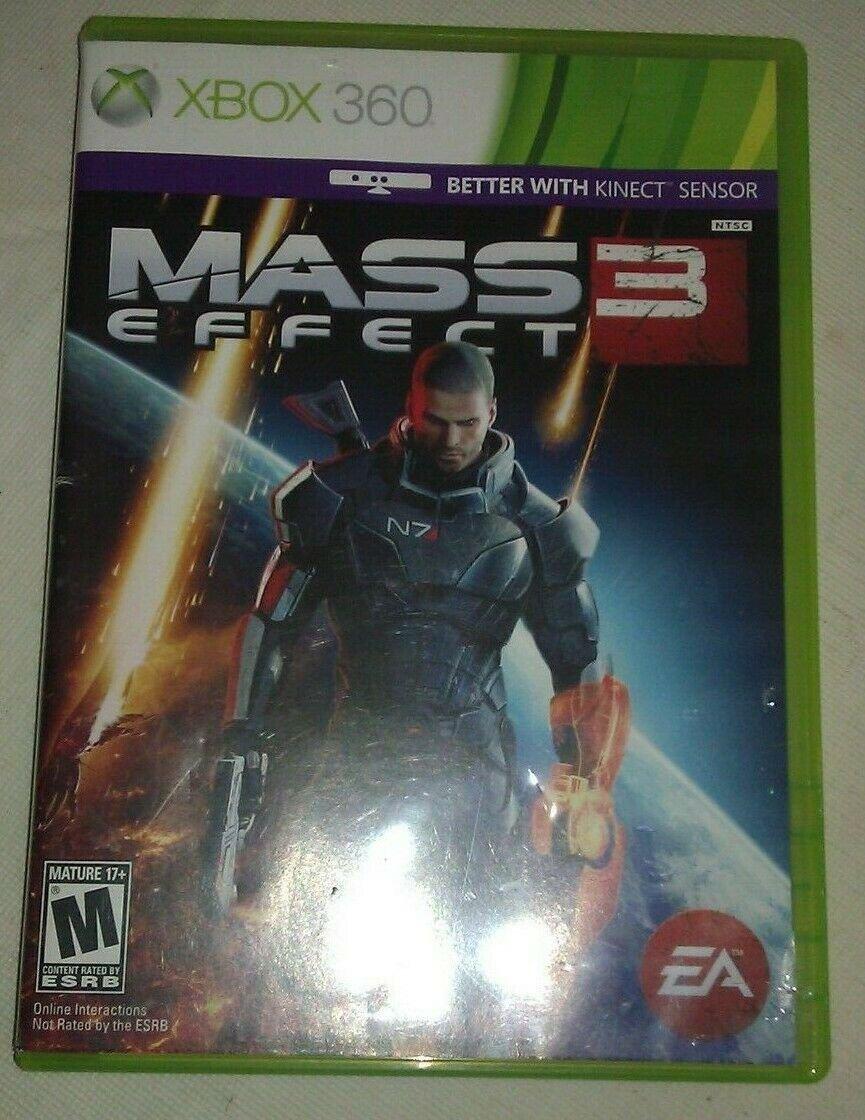 Mass Effect 3 (Microsoft Xbox 360, 2012) Tested