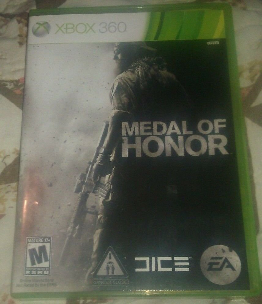 Medal of Honor (Microsoft Xbox 360, 2010) Complete With Manual CIB Tested