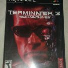 Terminator 3: Rise of the Machines (Sony PlayStation 2, 2003) W/ Manual CIB PS2