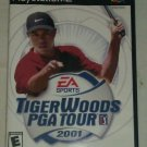 Tiger Woods PGA Tour 2001 Golf (Sony PlayStation 2, 2001) PS2