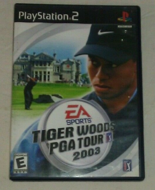 Tiger Woods PGA Tour 2003 Golf (Sony PlayStation 2, 2002) PS2