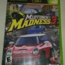 Midtown Madness 3 (Microsoft Xbox Original 2003) With Manual CIB Tested