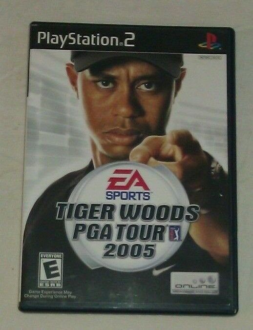 Tiger Woods PGA Tour 2005 (Sony PlayStation 2, 2004) PS2