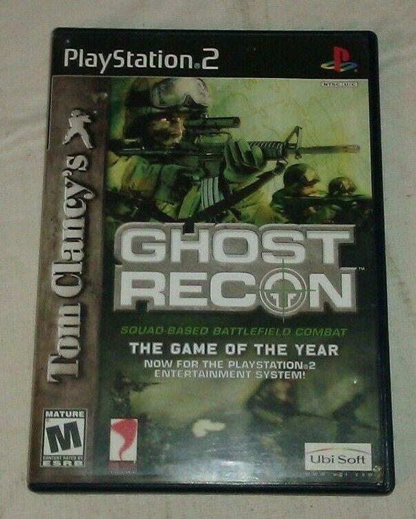 Tom Clancy's Ghost Recon (Sony PlayStation 2, 2002) PS2 CIP CIB