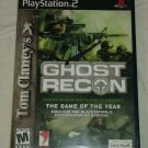 Tom Clancy's Ghost Recon (Sony PlayStation 2, 2002) PS2 CIP CIB